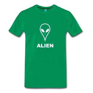 Green Alien Shirt