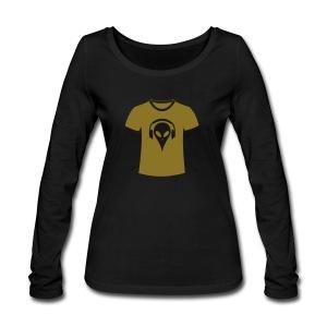 alien-t-shirt-frauen-bio-langarmshirt-von-stanley-stella