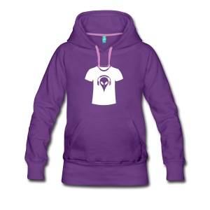 alien-t-shirt-frauen-premium-hoodie