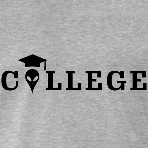 College Universitaet Uni Student Alien