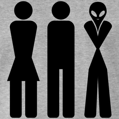 Frau Mann Alien - Frauen Männer Aliens - Jungs, Mädchen, Außerirdische